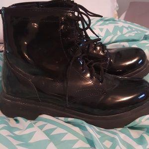 Black Combat Boots